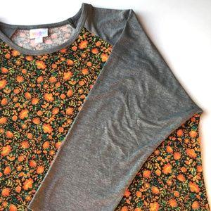 LuLaRoe Randy raglan shirt, Size XL, NWT
